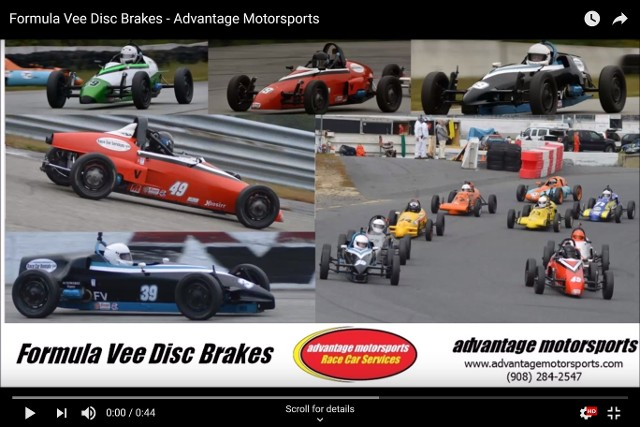 formula vee disc brakes youtube